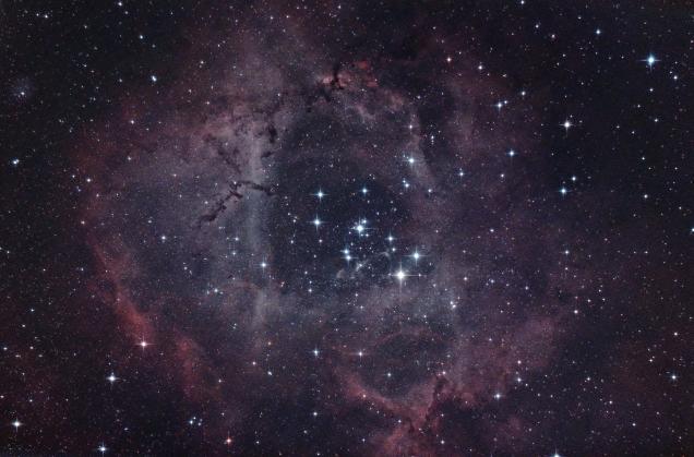 3hrs on the Rosette Nebula