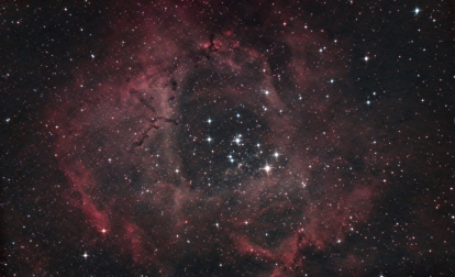 4hrs on the Rosette Nebula with some different processing