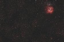 15x90 on M20, the Trifid Nebula